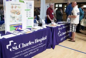 St. Charles Hospital exhibitor